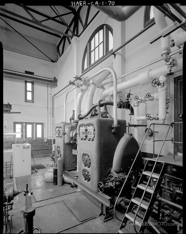 HABS-CA-1-HAER Photograph by S Schafer-