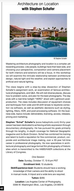 Architecture on Location with Stephen Schafer